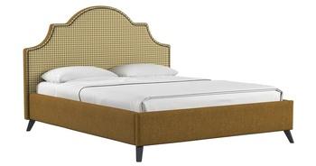 Кровать Фаина 1800 горчичный (без матраса), Нижегородмебель