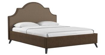 Кровать Фаина 1800 коричневый (без матраса), Нижегородмебель