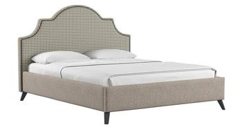 Кровать Фаина 1800 латте (без матраса), Нижегородмебель