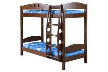 Кровать двухъярусная Фрегат без ящиков массив, Боринское