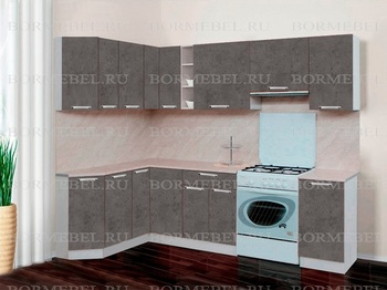 Кухня Трапеза Компакт угловой 1620х1785, 1 категория, Боровичи мебель