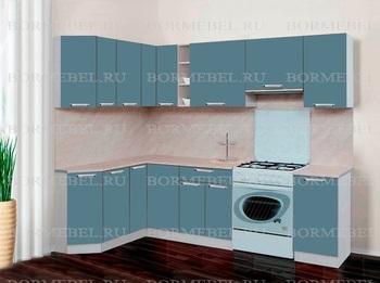 Кухня Трапеза Компакт угловой 1620х1785, 2 категория, Боровичи мебель