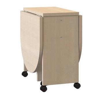Глория 601 Стол-книжка 330/1214х580/532х536, Моби мебель