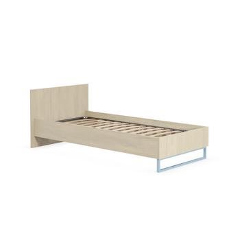 Гольф, Кровать одинарная, 2042 х 1040, В 750 мм, Моби мебель