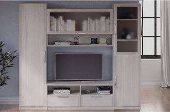 Гостиная Лотос, вариант №3, 2260х1995х385, Боровичи мебель