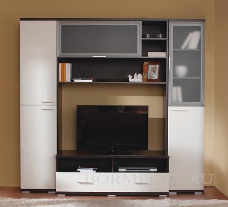 Гостиная Дуэт -3 , Боровичи мебель. Увеличить
