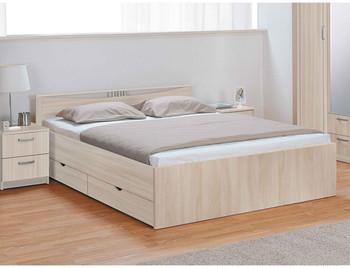 Кровать Мелисса 1600 с одной спинкой c ящиками (без матраца) - Боровичи мебель