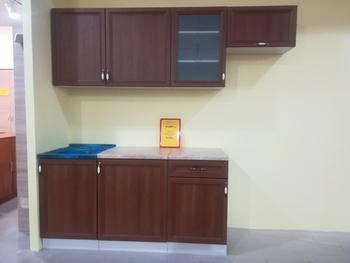 Кухонный гарнитур Рамочный 2200, столешница 38 мм, Распродажа, Выставка 32 км МКАД