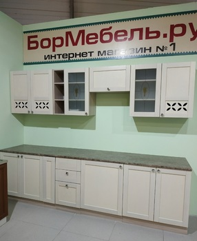 Кухонный гарнитур Кантри массив 2800 мм