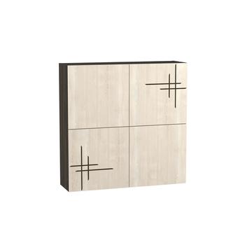 Стенка Киото 904, Шкаф навесной фотопечать, арт. к-01, Моби мебель