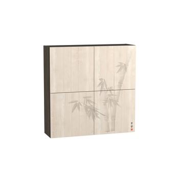 Стенка Киото 904 Шкаф навесной фотопечать арт. к-02, Моби мебель
