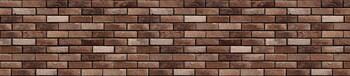 Стеновая панель МДФ 3050х610х6мм, Кирпич гранж красный