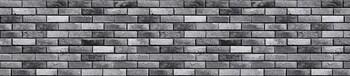 Стеновая панель МДФ 3050х610х6мм, Кирпич гранж серый