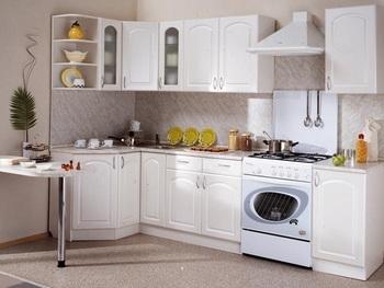 Кухня Трапеза Классика угловая 1200х2100 h 700, 2 категория, Боровичи мебель