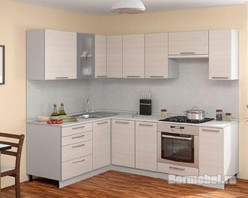Кухня Трапеза Классика 1600х1800, 1 категория, Боровичи мебель