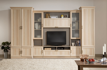 Гостиная Классика, комплект 1, Боровичи Мебель