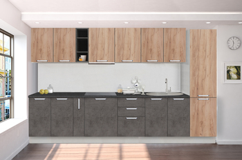 Кухонный гарнитур Классика 3400, 1 категория, Боровичи мебель