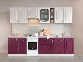Кухонный гарнитур Классика Прованс 2300 мм, 2 категория, Боровичи мебель