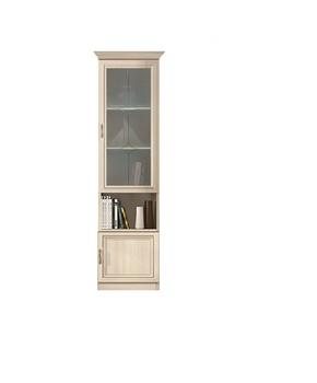 Гостиная Классика, 7.47 Шкаф-витрина, 485x1910x412, Боровичи Мебель