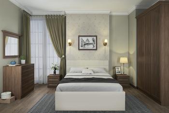 Спальня Классика, вариант №2, Боровичи мебель