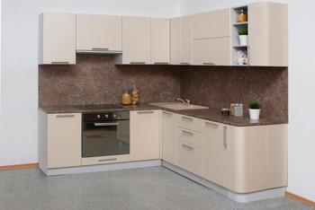 Кухня Классика угловая 1400х2230 мм, 2 категория, Боровичи мебель