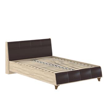 Келли 160 Кровать, 1688 x 2282, В 876 мм, Моби мебель
