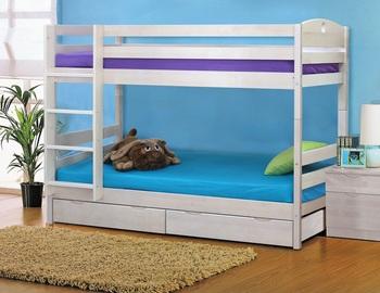 Кровать 2-х ярусная с ящиками массив, Боровичи мебель.