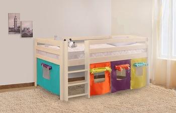 Кровать детская Массив Новая, Боровичи мебель