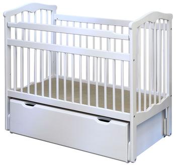 Кровать детская с маятником 720х1270х1060, ЭКО, Элегия, Боровичи