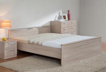Кровать Мелисса 900 с двумя спинками без ящиков (без матраца) - Боровичи мебель