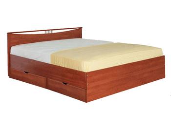 Кровать Мелисса 900 с одной спинкой c ящиками (без матраца) - БОРОВИЧИ МЕБЕЛЬ