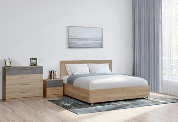 Кровать с подъемным механизмом ЛОФТ-ДРИМ, 1800 (без матраца), Боровичи мебель