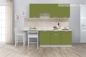 Кухня Симпл 2300 мм, 2 категория, Боровичи мебель