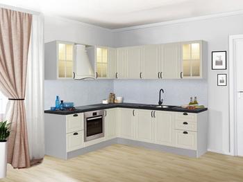 Кухонный гарнитур Классика угловой 2100х2250, 2 категория, Боровичи мебель