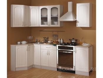 Кухня Трапеза Классика угловая 1200х1785, 2 категория, Боровичи мебель