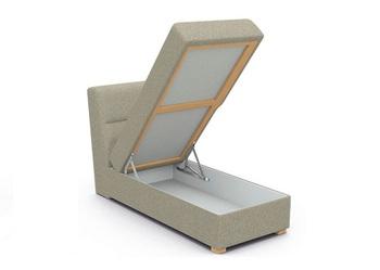 Виктория Кушетка с ящиком 750 мм, Боровичи мебель