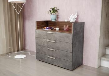 Лайт Комод 08.64, 900х413,  В 842 мм, Моби мебель