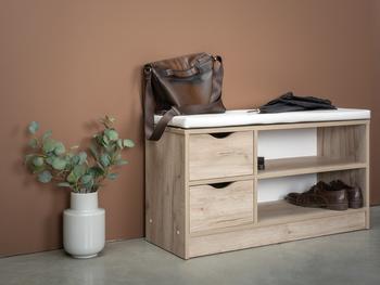 Лайт Тумба для обуви 10.82 Н, 970х346, В 529 мм, Моби мебель