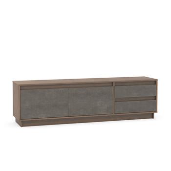 Леон, Тумба под ТВ, 1800х404х515 мм, Моби мебель