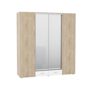 Линда 312, Шкаф 4-х дверный, 2012 х 620, В 2200 мм, Моби мебель