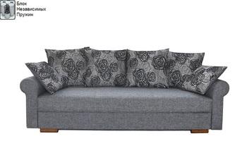 Диван Лира Люкс с боковинами 1500 с блоком независимых пружин, Боровичи мебель