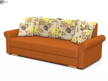 Диван Лира Люкс с боковинами 1400 с блоком независимых пружин, Боровичи мебель