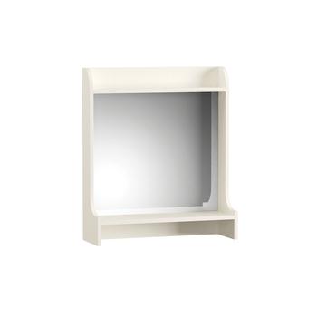 Ливерпуль, Полка с зеркалом 10.118, 600х200, В 700 мм, Моби мебель