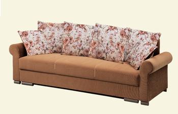 Диван Лира Люкс с боковинами 1600, Боровичи мебель