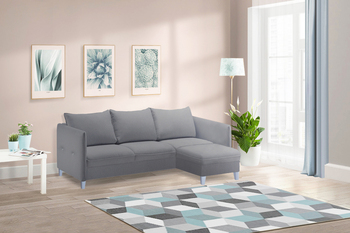 Угловой диван Лофт Компакт (еврокнижка), Боровичи мебель