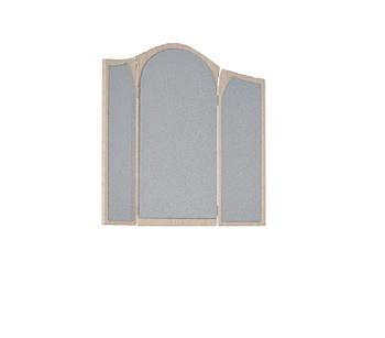 12.10Z Лотос, Зеркало навесное 870х870х20, Боровичи мебель