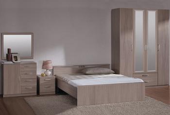 Спальня Лотос, вариант № 2, Боровичи мебель