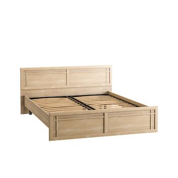 Марко, Кровать двойная 01.35 (160), 1656х2042, В 900 мм, Моби мебель