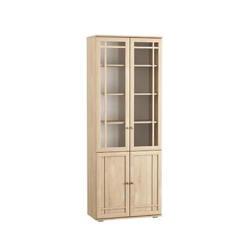 Марко, Шкаф-витрина 03.262, 798х392, В 2105 мм, Моби мебель