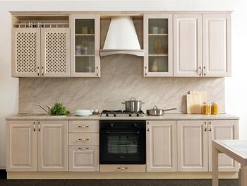 Кухня Трапеза Массив Люкс 2400, Боровичи мебель